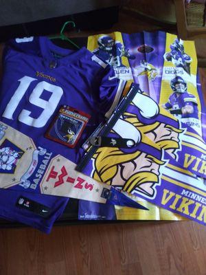 Vikings Jersey and sports memorabilia for Sale in Tucson, AZ