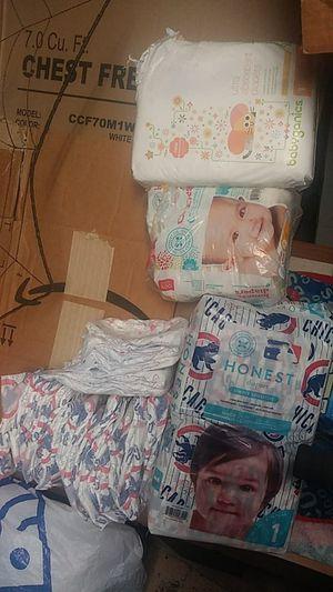 Size 1 diaper lot. for Sale in Chicago, IL