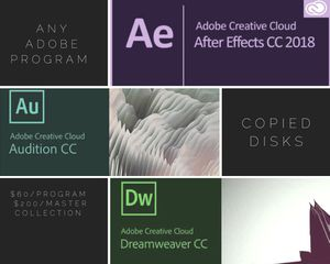 Any Adobe program $60 for Sale in Fort Washington, MD