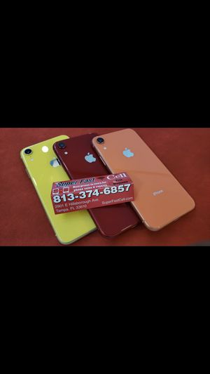 📲🔥iPhone XR 64Gb factory unlocked with warranty for Sale in Tampa, FL