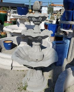 Concrete Fountain / Cement Backyard Garden Outdoor Fountains for Sale in Miami,  FL