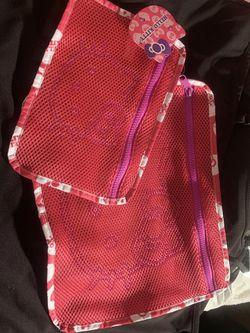 Sanrio Two Hello Kitty Mesh Zipper Bags for Sale in Marina,  CA
