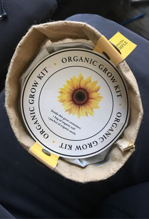 Organic sunflower kit for Sale in San Jose, CA