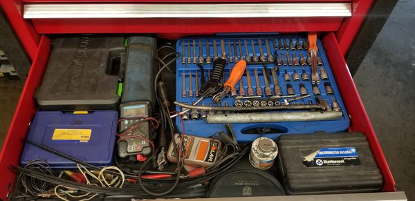 Cornwell Box Loaded With Tools