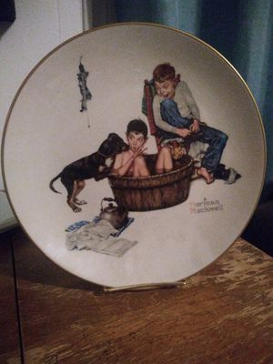 Normon Rockwell vintage plate for Sale in Coffeyville, KS