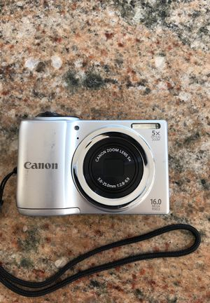 Canon camera 16 mega pixels for Sale in Columbus, OH