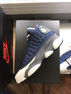 GS Kids size air Jordan flint 13 for Sale in Plymouth, MI