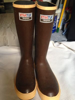 New Xtratuf neoprene size 10 rubber boots for Sale in Delaware, OH