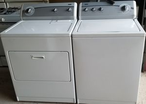 matching set washer and electric dryer for Sale in Lathrop, CA
