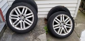 C300 Mercedes Benz rims and tires for Sale in Somerville, MA