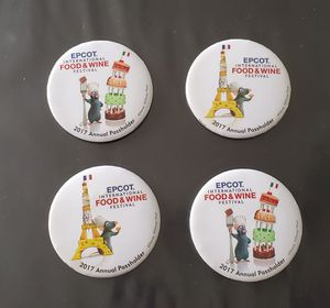 Disney Epcot Food and Wine annual passholder pins for Sale in Haines City, FL