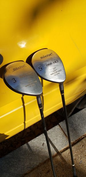 True Lies 3 and 5 Woods - Golf Clubs for Sale in Washington, DC