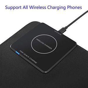 10 W quick charge wireless charger and mouse pad for all devices waterproof rubber mouse pad for Sale in Corona, CA