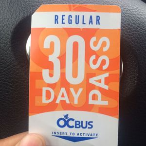 30 Day Regular Pass for Sale in Garden Grove, CA