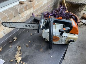 Stihl ms-201t chainsaws for Sale in Houston, TX