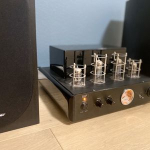 Tube amplifier + speakers + subwoofer/ hifi sound system / stereo with Bluetooth for Sale in San Diego, CA