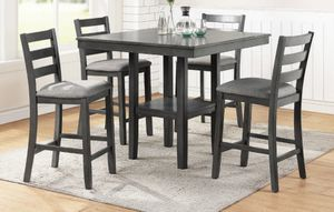 5-pc Counter Height Dinning Set for Sale in Anaheim, CA