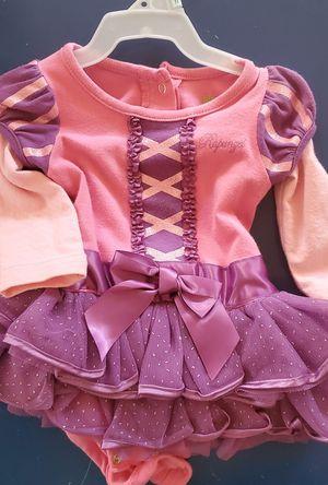 Baby girl Disney Costume Rapunzel 3M for Sale in Costa Mesa, CA