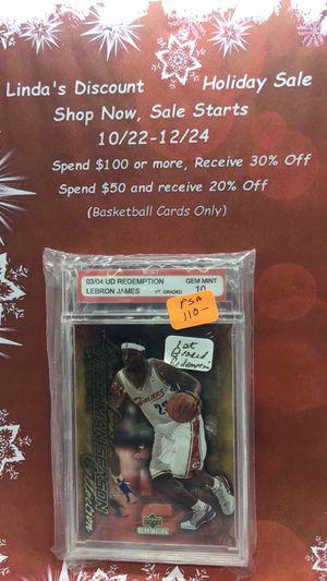 LeBron James upper deck graded card for Sale in Beverly Hills, FL