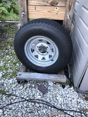 Trailer tire brand new 6 lug for Sale in LAKE CLARKE, FL
