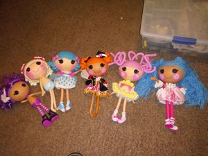 Limited edition Lalaloopsy dolls for Sale in Grand Prairie, TX