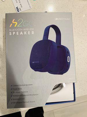 Bluetooth wireless Speaker H2go for Sale in Irvine, CA