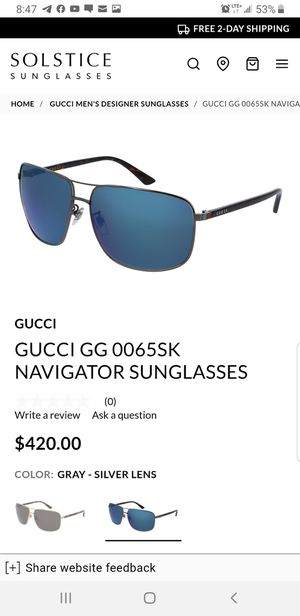 GUCCI SUNGLASSES for Sale in Worcester, MA
