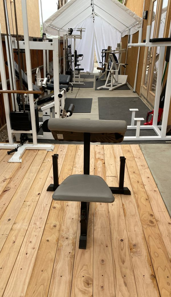 Preacher curl bench for Sale in Perris, CA - OfferUp