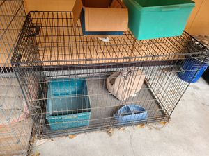 Care dog crate 48x30x33 for Sale in Dover, FL