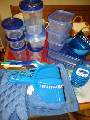Blue Kitchen Items (READ POST) for Sale in Newport News, VA