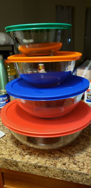 Pyrex bowls for Sale in Jersey City, NJ