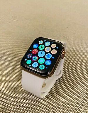 Apple Watch Series 5 GPS + Cellular Stainless Steel Gold 40 mm for Sale in Atlanta, GA