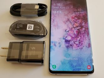 Samsung Galaxy S10+ Plus, Factory Unlocked, Nothing wrong works perfectly, Excellent condition like new for Sale in Alexandria,  VA