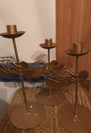 3 beautiful candle holders for Sale in Frederick, MD