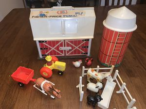 1967 Vintage Fisher Price Barn Set toy for Sale in Glendale, AZ