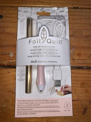 We R Memory Keepers Foil Quill Fine Tip Freestyle Pen for Sale in Chandler, AZ