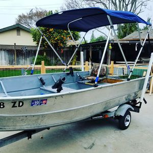 1980 13.5 Western Aluminum fishing boat for Sale in San Jose, CA