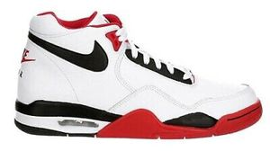 Men's Nike Flight Legacy, Red/white, Basketball Shoes. Size 9, 9.5, 10 And 10.5 for Sale in Tracy, CA