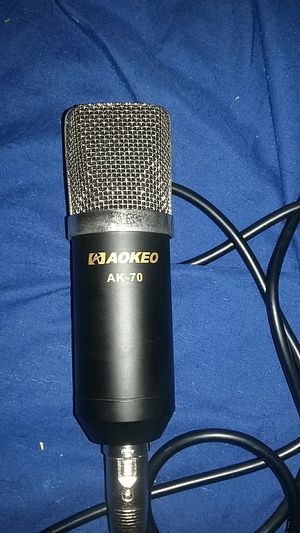 Microphone and USB sound adapter for Sale in Columbus, OH