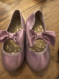 Sz 8 Cat & Jack Light Purple Sparkle Shoes for Sale in Brooksville,  FL
