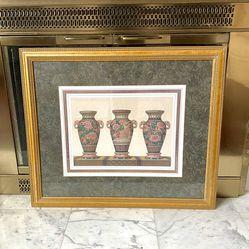 Windsor Art Framed Oriental Vases for Sale in Kent,  WA