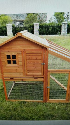 Fir wood chicken coop, New in box, never opened. for Sale in Hermon, ME
