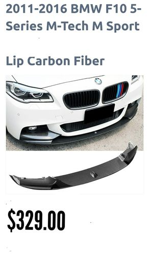 2011-2016 BMW F10 5 SERIES CARBON FIBER LIP, M-TEC STYLE for Sale in Los Angeles, CA