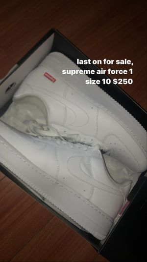 Supreme x Nike Air Force 1 for Sale in Los Angeles, CA