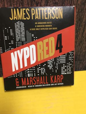 NYPD Red 4 Audio Book by James Patterson for Sale in Las Vegas, NV