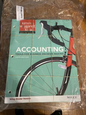 Accouting textbook for Sale in Havertown, PA