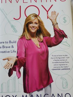 INVENTING JOY - Joy Mangano Signed Limited Edition (2017, Hardcover) VERY GOOD for Sale in San Diego,  CA