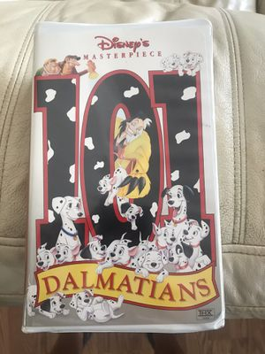 Disney's 101 Dalmations on VHS for Sale in Taylors, SC