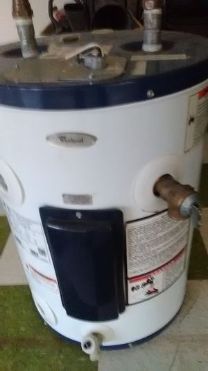 Whirlpool 12 gallon hot water heater new never been installed list for 323.00 dollars at Lowe's . Asking for 150.00 for Sale in Dallas, TX