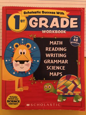 First Grade Workbook by Scholastic- 416 Pages for Sale in IL, US